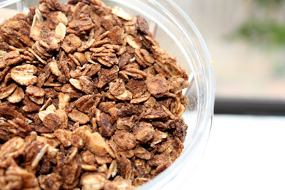 Chocolate-peanut-butter-granola